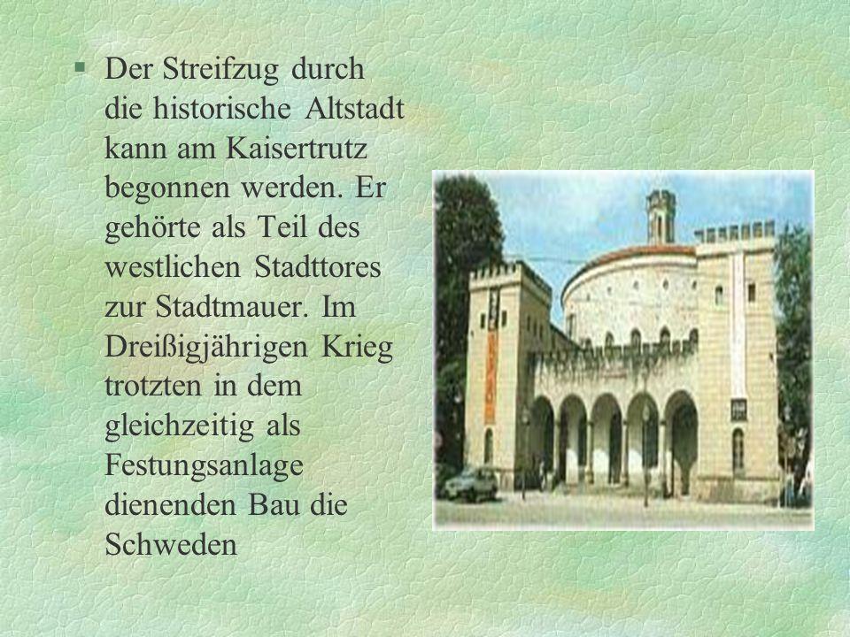 §Das Görlitzer Theater, ein Musiktheater mit allen musikalischen Genres, einschließlich Ballett