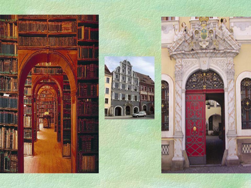 Oberlausitzische Bibliothek der Wissenschaften Neissstrasse 30 §Bibliothek Górnołużycka gehört zu den schönsten Objekten dieser Art in Deutschland
