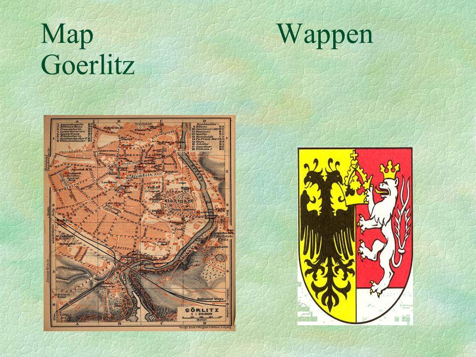 Map Wappen Goerlitz