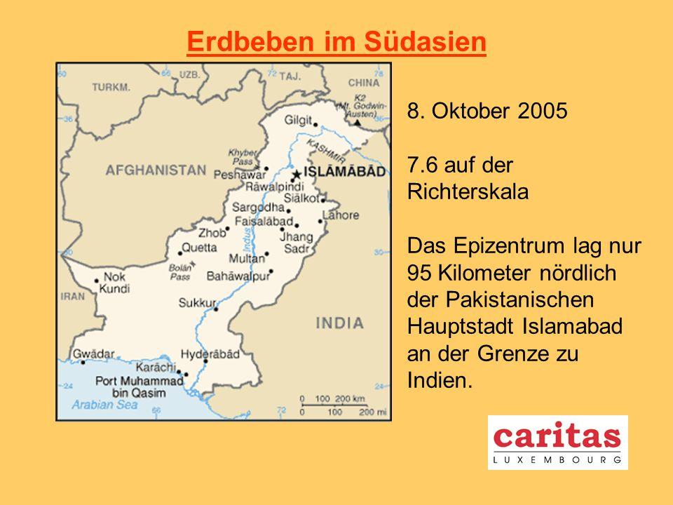 Erdbeben im Südasien 8.