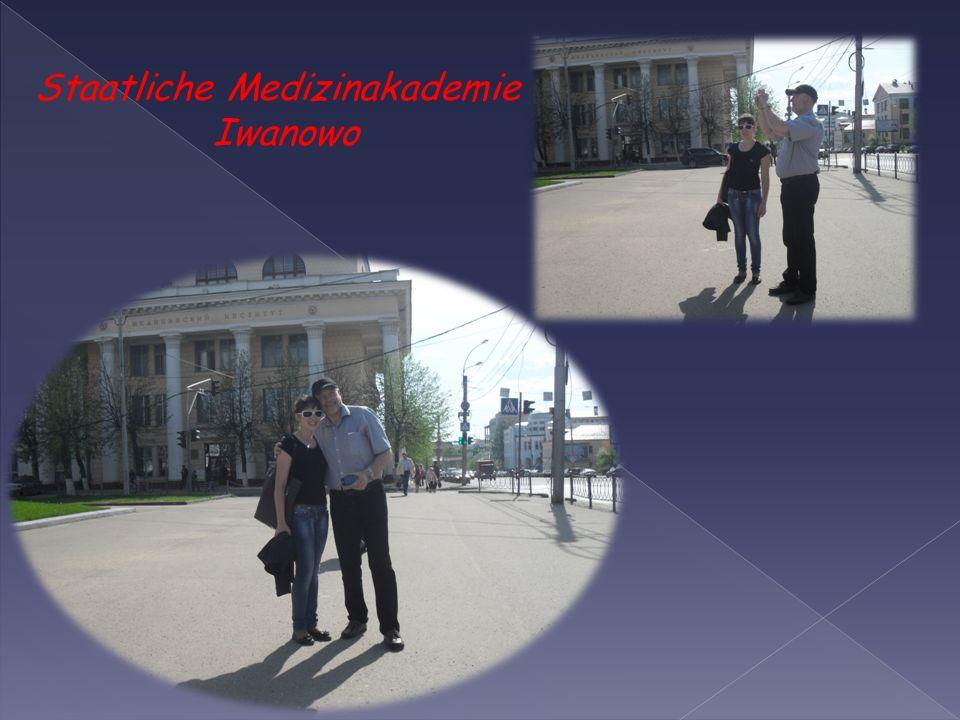 Staatliche Medizinakademie Iwanowo ist 1930 wie das Iwanowoer staatliche medizinische Institut gegründet.