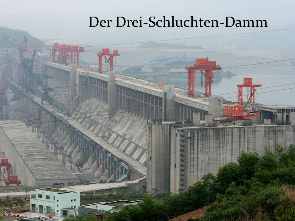 Wasserkraft Der Drei-Schluchten-Damm