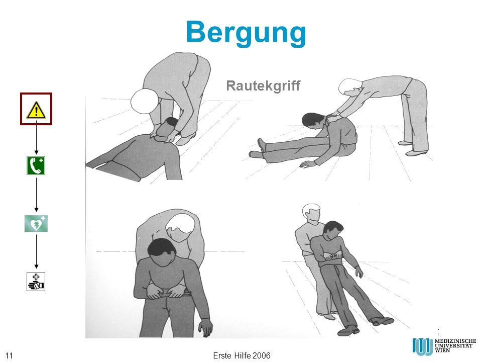 Erste Hilfe 200611 Bergung © ÖRK Rautekgriff