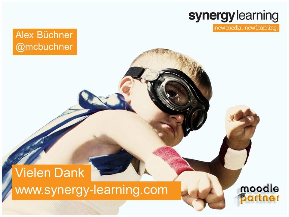 www.synergy-learning.com Vielen Dank Alex Büchner @mcbuchner