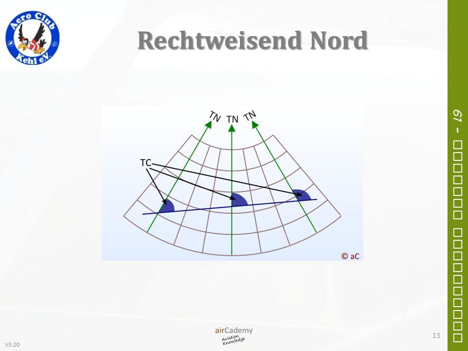 V3.00 61 – General Navigation Rechtweisend Nord 13