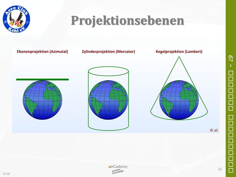 V3.00 61 – General Navigation Projektionsebenen 26