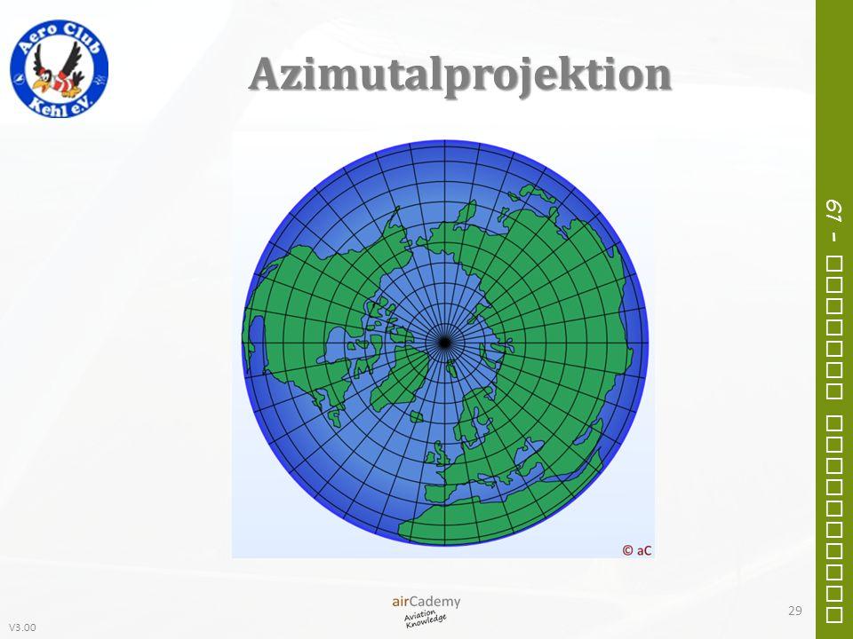 V3.00 61 – General Navigation Azimutalprojektion 29