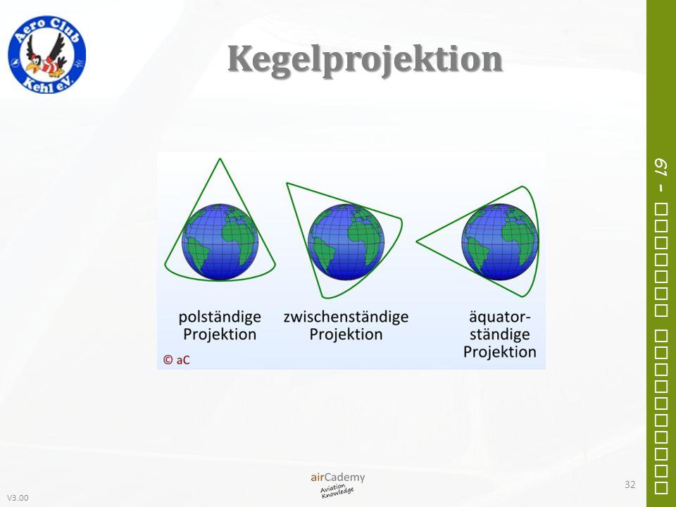 V3.00 61 – General Navigation Kegelprojektion 32