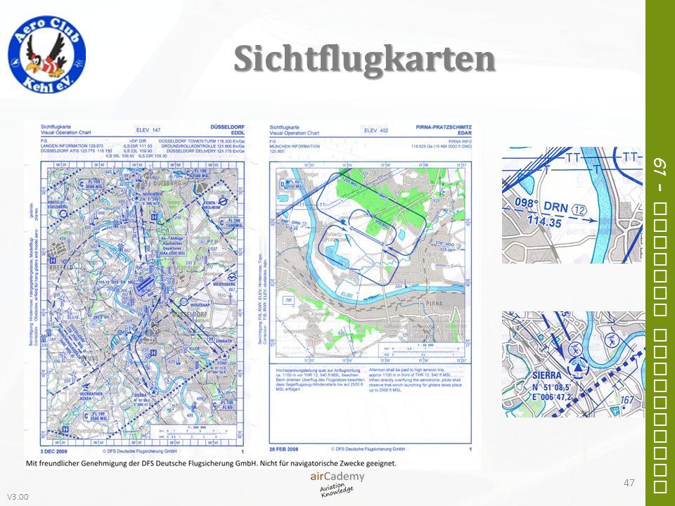 V3.00 61 – General Navigation Sichtflugkarten 47