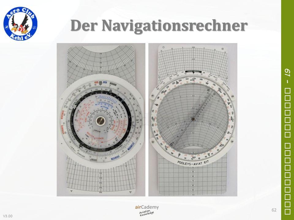 V3.00 61 – General Navigation Der Navigationsrechner 62