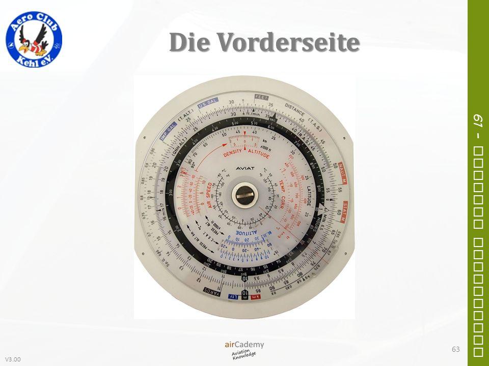 V3.00 61 – General Navigation Die Vorderseite 63