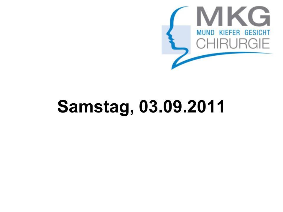 Samstag, 03.09.2011
