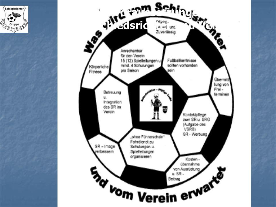 Die Voraussetzungen vom Schiedsrichter und Verein