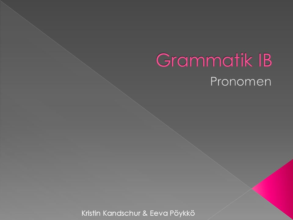 bezieht sich auf nicht näher bestimmte Personen grammatisch: Nom.