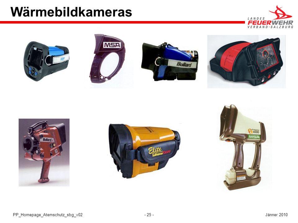 - 25 -PP_Homepage_Atemschutz_sbg_v02 Wärmebildkameras Jänner 2010
