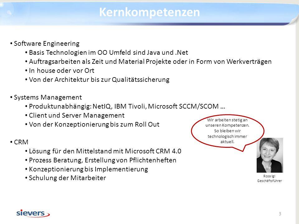 Software Engineering Basis Technologien im OO Umfeld sind Java und.Net Auftragsarbeiten als Zeit und Material Projekte oder in Form von Werkverträgen