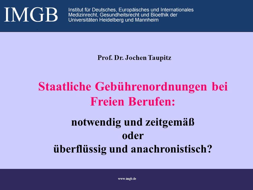 1 www.imgb.de Prof. Dr.