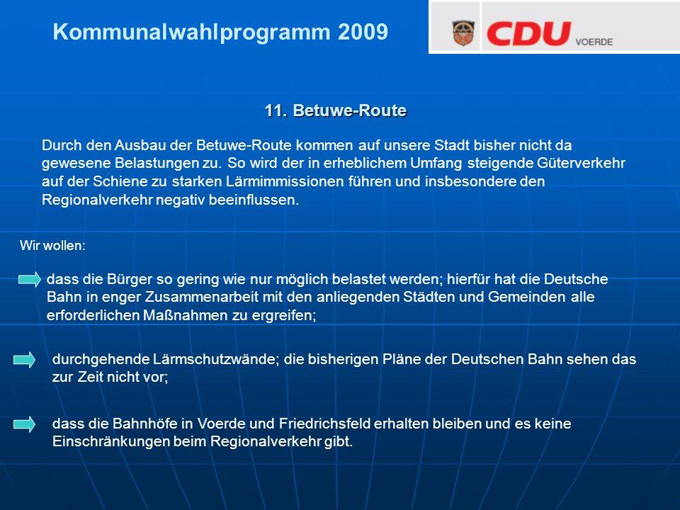 dass die Bürger so gering wie nur möglich belastet werden; hierfür hat die Deutsche Bahn in enger Zusammenarbeit mit den anliegenden Städten und Gemei