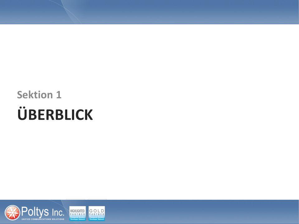 Konfigurierung der Panasonic IP-PBX 3.4 Konfigurieren der Panasonic TK-Anlage (1) Die Anwendung Appointment Reminder wird mit der Panasonic TK-Anlage via einem kompakten Bereich von SIP Nebenstellen für Drittanbieter verbunden.