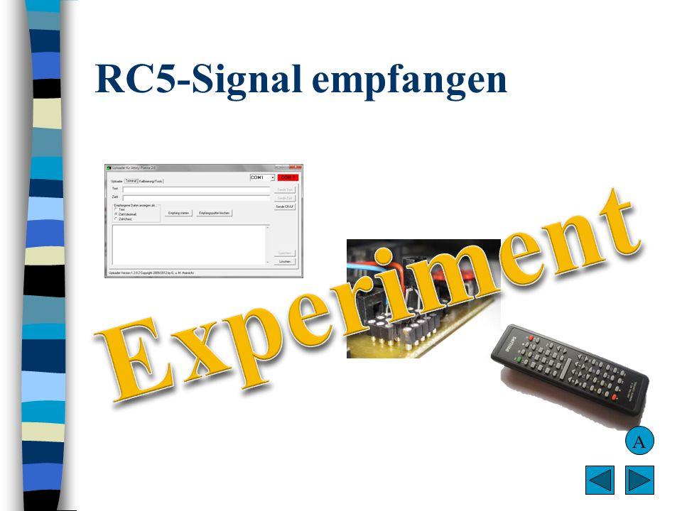 RC5-Signal empfangen A