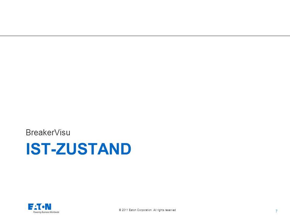 38 © 2011 Eaton Corporation. All rights reserved. Unterstützte Geräte NZM NZM2, -3, -4NZM-XSWD-704