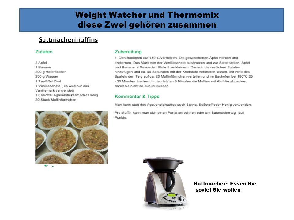 Weight Watcher und Thermomix diese Zwei gehören zusammen Sattmacher: Essen Sie soviel Sie wollen Tomatenpesto EmulgierenEmulgieren über den Deckel Sat