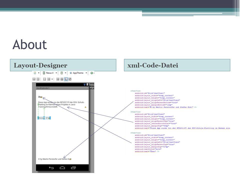 About Layout-Designerxml-Code-Datei