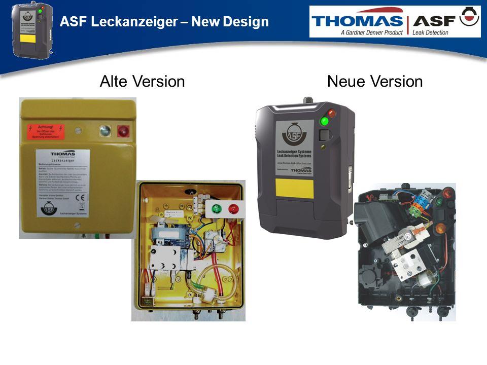 ASF Leckanzeiger – New Design Präsentation neuer LAG Newsletter.ppt 3 Alte VersionNeue Version Weiter Klicken