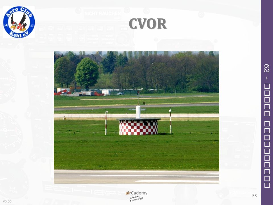 V3.00 62 – Radio Navigation CVOR 58