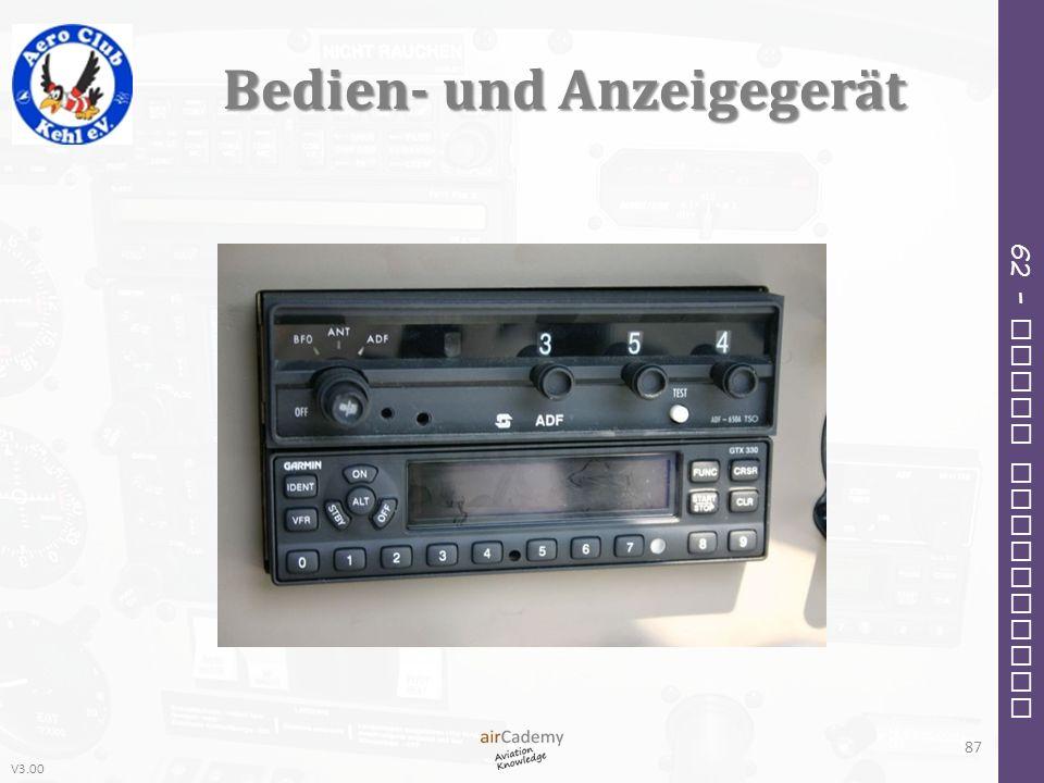 V3.00 62 – Radio Navigation Bedien- und Anzeigegerät 87