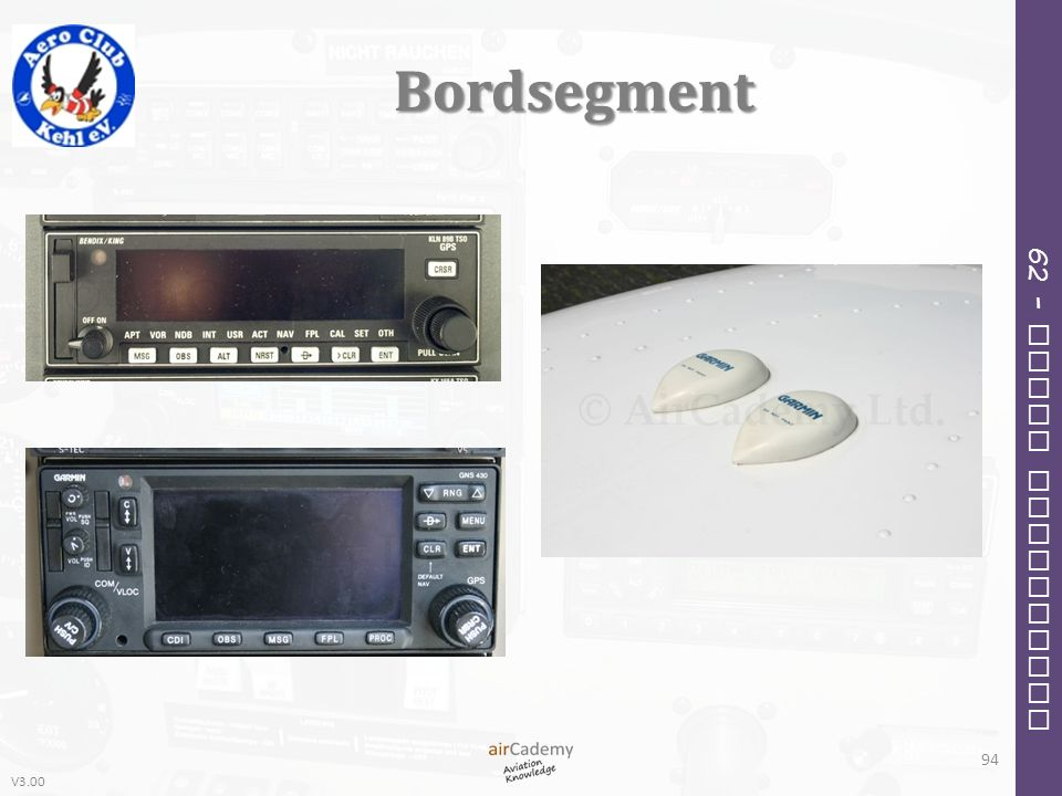 V3.00 62 – Radio Navigation Bordsegment 94