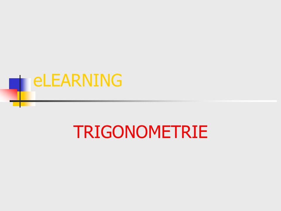 eLEARNING TRIGONOMETRIE