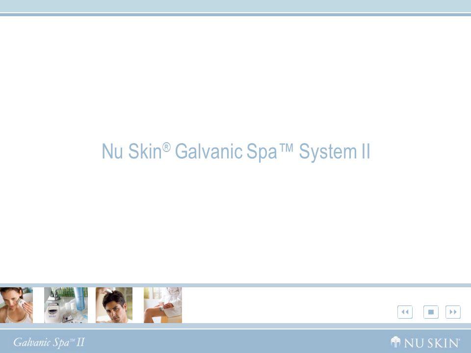 Nu Skin ® Galvanic Spa System II
