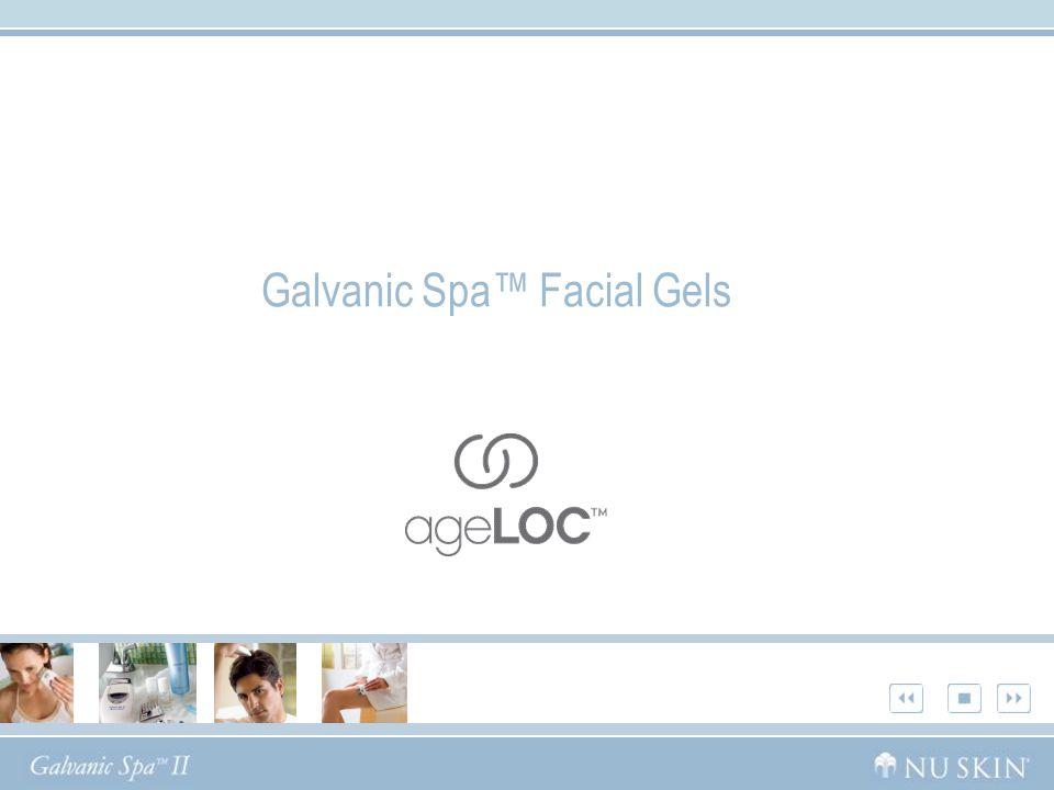 Galvanic Spa Facial Gels