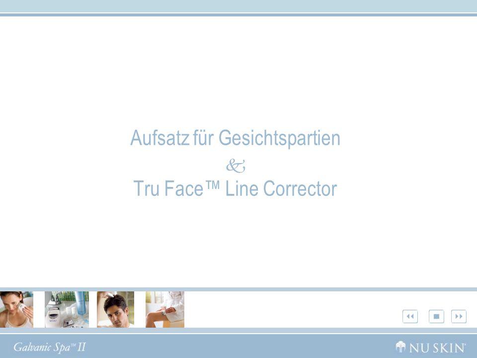 Aufsatz für Gesichtspartien Tru Face Line Corrector