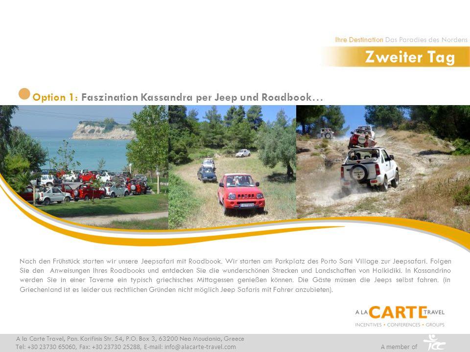 Nach den Frühstück starten wir unsere Jeepsafari mit Roadbook.