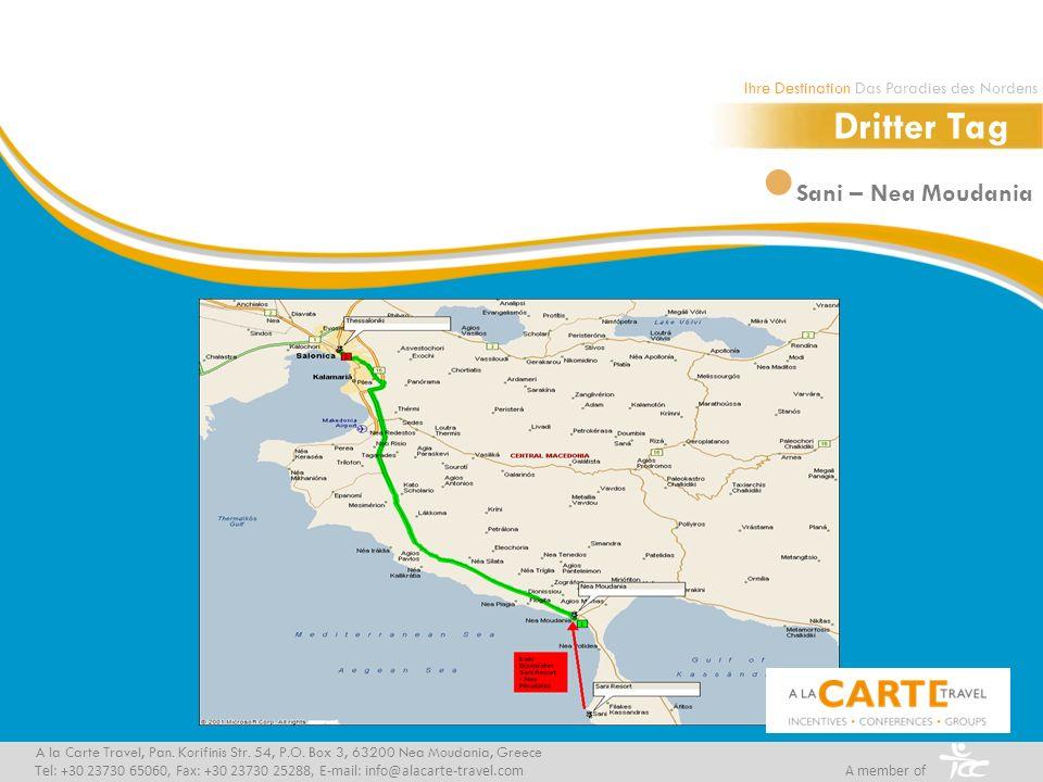 Sani – Nea Moudania A la Carte Travel, Pan.Korifinis Str.