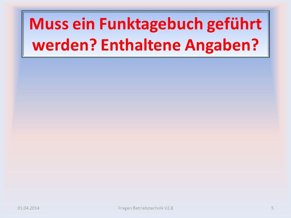 Betriebliche Bedeutung von MUF und LUF.