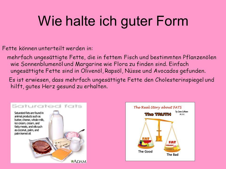 Jak utrzymać formę Vitamine sind essentielle Nährstoffe, die kleine Mengen, die für das reibungslose Funktionieren des Körpers sind.