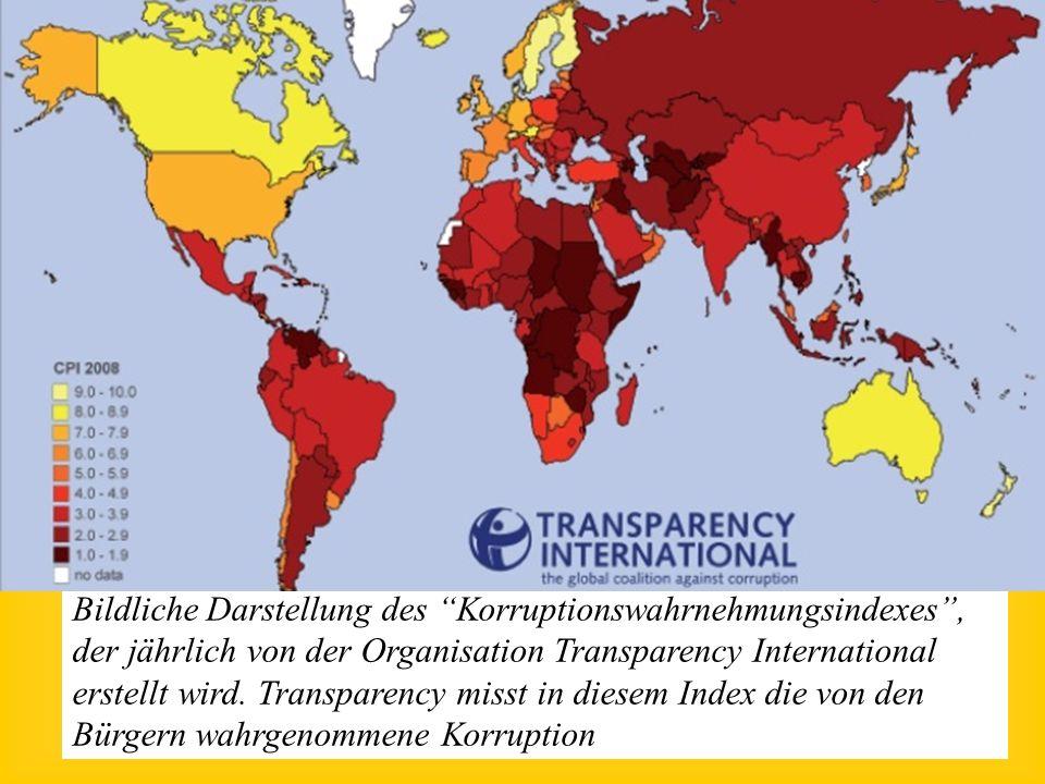 Ursachen der Verschuldung Korruption: In einigen krassen Fällen wurden Kredite überhaupt nicht oder nur teilweise für die vorgesehen Projekte verwende
