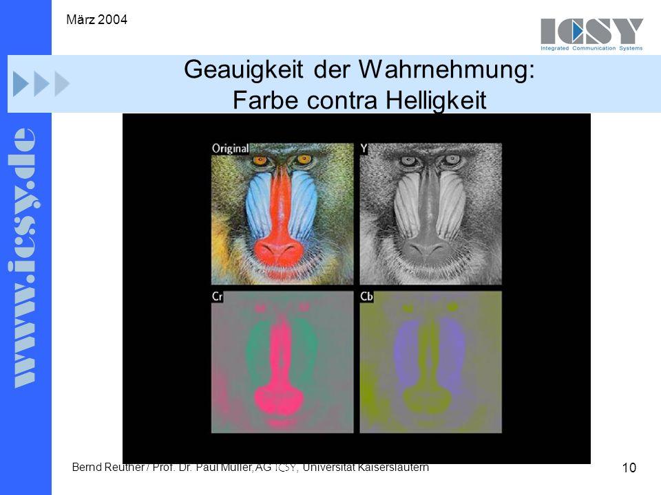 10 März 2004 Bernd Reuther / Prof. Dr.