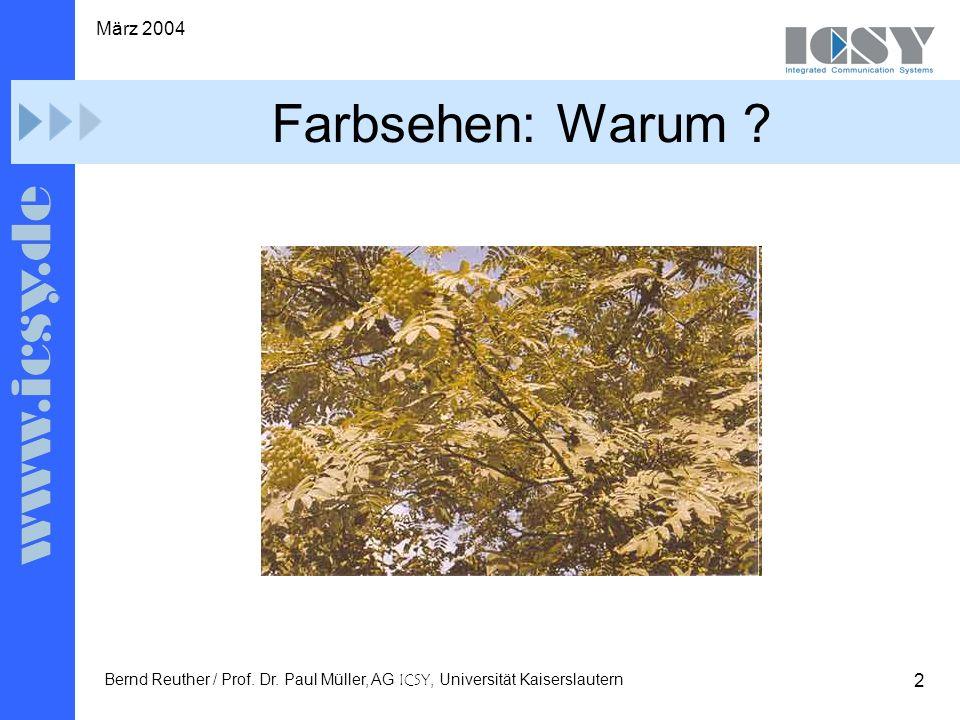 2 März 2004 Bernd Reuther / Prof. Dr.
