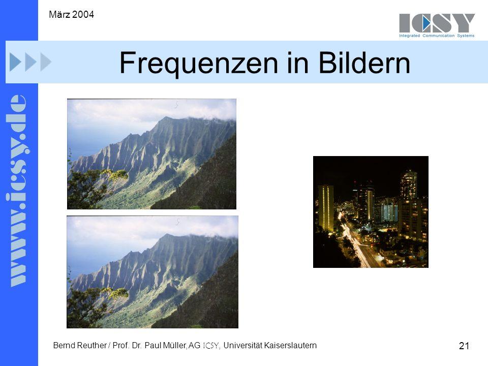 21 März 2004 Bernd Reuther / Prof. Dr.