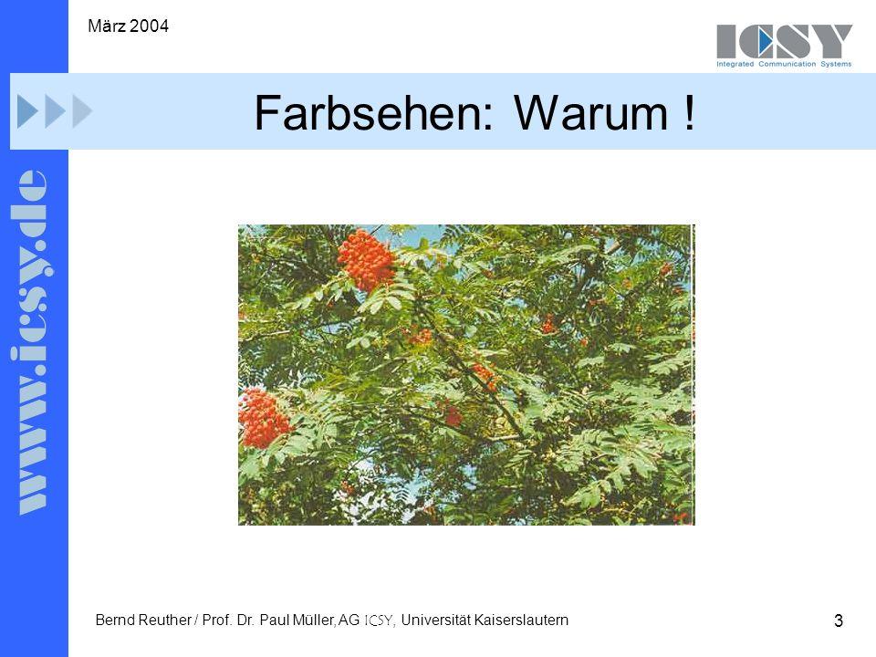 3 März 2004 Bernd Reuther / Prof. Dr.