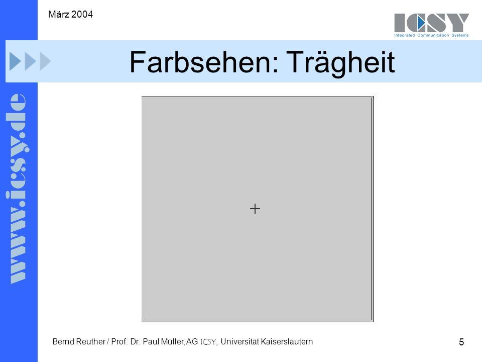 5 März 2004 Bernd Reuther / Prof. Dr.