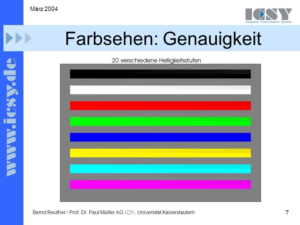7 März 2004 Bernd Reuther / Prof. Dr.