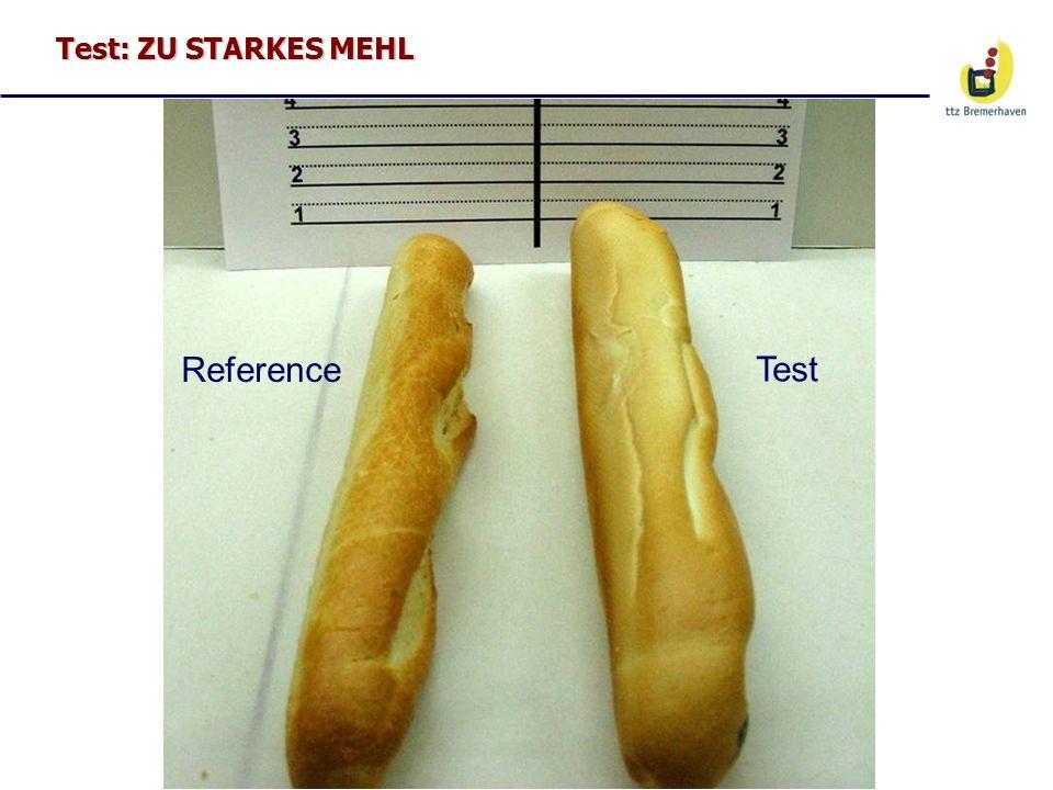 Test: ZU STARKES MEHL Reference Test
