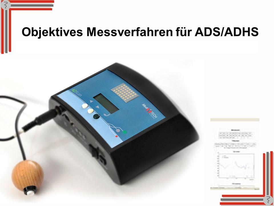 Objektives Messverfahren für ADS/ADHS