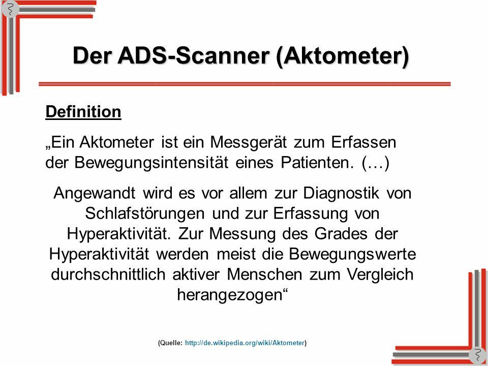Definition Ein Aktometer ist ein Messgerät zum Erfassen der Bewegungsintensität eines Patienten. (…) Angewandt wird es vor allem zur Diagnostik von Sc
