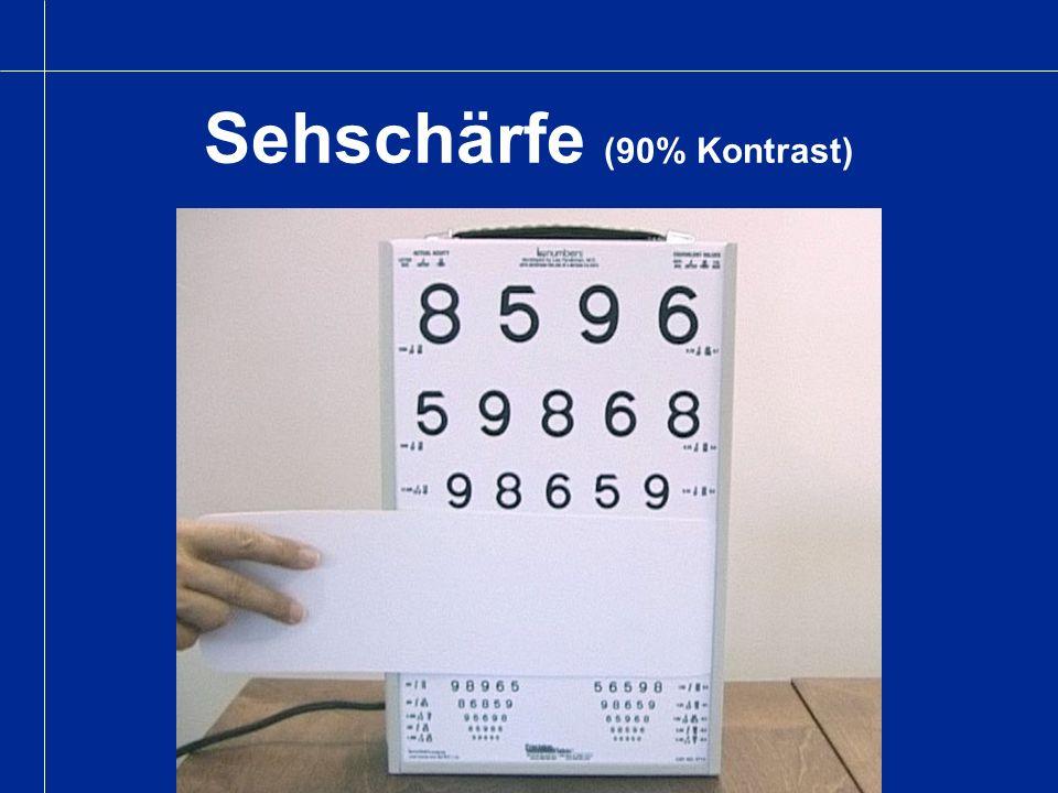 Sehschärfe (2.5% Kontrast)